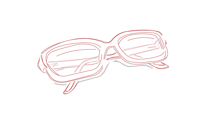 Spectacles Digital Illustration